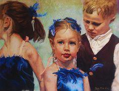 Bluebird by Bev Lee Pastel