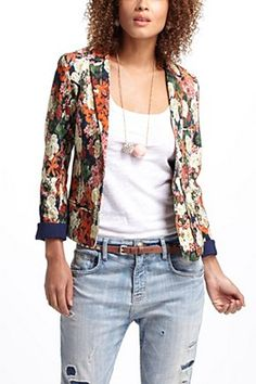 Botanical Blazer | Anthropologie.eu