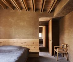 Taller Hector Barroso designed a residential complex in Valle de Bravo, Mexico, which uses only local materials: brick, wood, and earth. Cabinet D Architecture, Interior Architecture, Rammed Earth Homes, Casa Patio, Tadelakt, Weekend House, Residential Complex, Ground Floor Plan, Contemporary Architecture