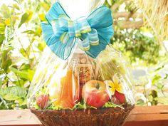 82eddf0c5d2e Hawaiian gourmet healthy gift basket w fresh fruit (papaya