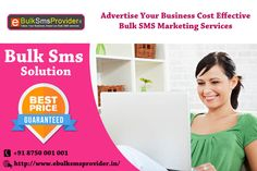 You can use Bulk SMS to reach out to new clients and keep in touch with your existing clients. You can also set up Bulk SMS campaigns on behalf of your clients, to help them connect with their own customers. Know more visit @ http://www.ebulksmsprovider.in/