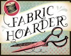 Image of 11x14 Fabric Hoarder Fine Art Print