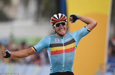 Greg van Avermaet wins Rio 2016 Olympics men's road race | Daily Mail Online