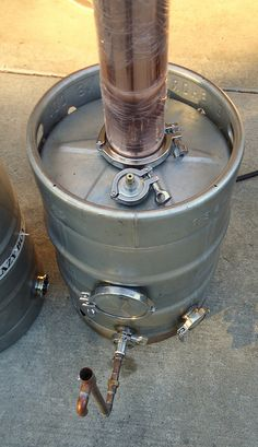 beer keg column still - Google Search