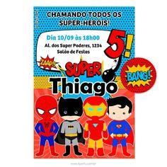 Kit Festa Super-Heróis - 4Party|Kits para Festas - 18073