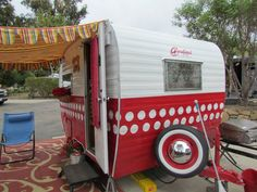 cute travel trailer