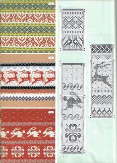 View album on Yandex. Knitting Machine Patterns, Knitting Charts, Filet Crochet, Knit Crochet, Shibori, Fair Isles, Fair Isle Knitting, Pixel Art, Punch