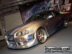 Sliver/Blue car with Borla exhaust system with esparco seats My Dream Car, Dream Cars, R34 Gtr, Nissan Gtr Skyline, Import Cars, Tuner Cars, Sweet Cars, Japanese Cars, Modified Cars