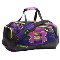 Under Armour Undeniable Small Duffel II - Black / Purple
