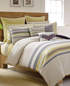 Nautica Shelford Comforter and Duvet Mini Sets - Bed in a Bag - Bed & Bath - Macy's