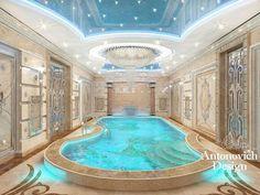 indoor pool by Antonovich Design