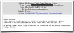 Testimonio 34 - Elimine Su Dolor de Espalda     http://www.ElimineSuDolorDeEspalda.com/blog