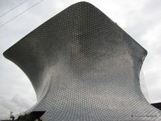 Soumaya Museum at Plaza Carso in Mexico City - distinctive modern architecture, great collection of 15th to 20th century art