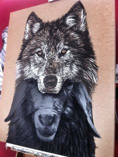 The Wolf Wolf, Batman, Superhero, Tattoos, Animals, Fictional Characters, Art, Art Background, Tatuajes