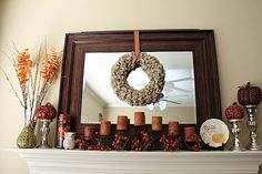 This is the McLife!: Fall Mantel Fun