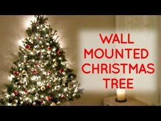 I've always liked the idea of a wall mounted Christmas tree, especially when you live in a small apartment where floor space is at a premium, but most of the...