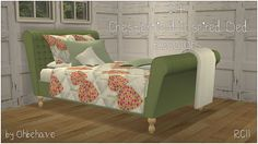 Ohbehave's Junk Trunk: Chesterfield Inspired Bed Recolors