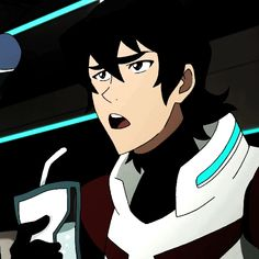 I like how they forgot to change the color of his shoulder from red to black when  he took a very grumpy drink!