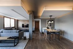 Contemporary and Minimalist atmosphere in young pilot's apartment, Porto Alegre, 2016 - Bibiana Menegaz Arquitetura de Atmosfera Architecture Plan, Interior Architecture, Interior Design, African Interior, Residential Architect, Home Projects, Sweet Home, House Design, Contemporary