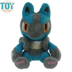 """Find More Movies & TV Information about New Pokemon Kawaii Lucario Peluche Anime Toys Juguetes Brinquedos Baby Dolls Girls Gift 5.5"""" Free Track Code,High Quality doll satin,China gift card vending machine Suppliers, Cheap doll grass from Toys in the Kingdom on Aliexpress.com"""
