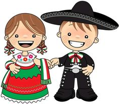 Jorge y Martha Mexican Colors, Mexican Style, Mexican Men, Mexican Christmas, Hispanic Heritage Month, Mexican Crafts, Mexican Party, Cute Images, Clip Art