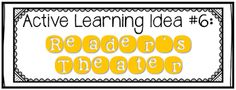 Mrs. Plemons' Kindergarten: Learn Like a Pirate Book Study: Chapter 6 {Active Learning}