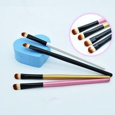 Neue Super Soft Professional Makeup Augenbrauen Pinsel Lidschatten Blending Winkelbürste Comestic Bilden Werkzeug