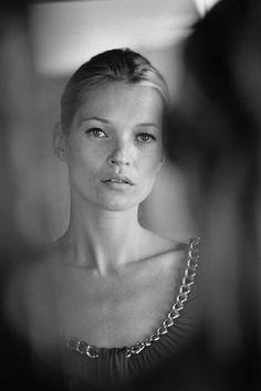 Kate Moss by Tom Craig.