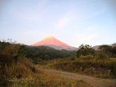 Volcán de Fuego desede La Mesa Colima, Mx.