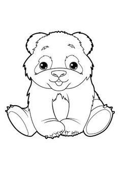 Coloriage d 39 un b b panda maternelle 4 ans pinterest panda paper piecing and embroidery - Coloriage panda maternelle ...