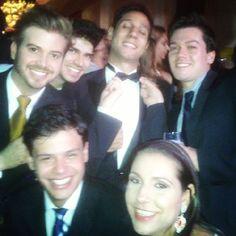 Noite otima comemorando a vitoria do Doutor @lelecus !  http://instagram.com/p/cmubcIChJY/