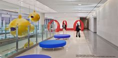 Healthcare The Johns Hopkins Hospital Healthcare Design the Charlotte R. Bloomberg Children's Center and the Sheikh Zayed Tower, Baltimore, Maryland. #healthcare, #hospital