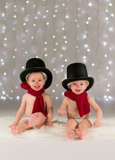 Kerst ... | Portret foto van sg | Zoom.n lmede geinspireerd door danielle brasher Twin kerstkaart xmas
