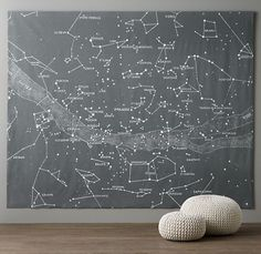 Starry Night Grand Canvas Wall Tapestry [SOURCE]