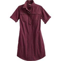 Women's Textured Cotton Dress