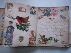 Victorian Scrapbook 1879 - mourning