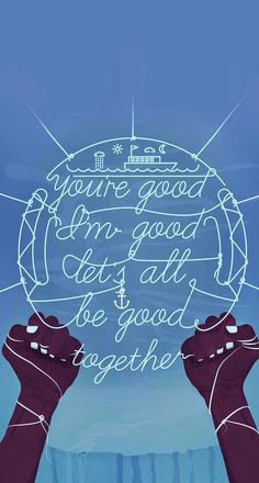 It's all good.