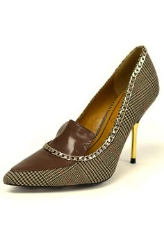 Bianka Shoes In Brown.