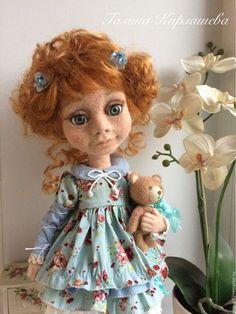 Коллекционные куклы ручной работы. Ярмарка Мастеров - ручная работа. Купить Лизонька. Handmade. Кукла ручной работы, кукла