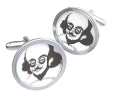 William Shakespeare/Custom image cuff links by mannmadedesigns, $42.00