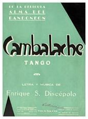 Ver La Partitura De Cambalache Tango Tango Argentino Partituras