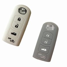2pcs Silicone Fob Key Cover for MAZDA 3 5 6 CX-7 CX-9 MX-5 Miata Smart Key Remote Keyless entry Protective Key Protector Key Jacket Holder Bag Case Shell WAZSKE13D01 -- Awesome products selected by Anna Churchill