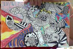 art project....zentangles!!!