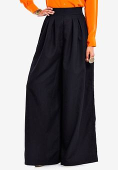 It does not get any trendier than these chic Palazzo pants from Abaya Addict! A loose fit and light material make it a comfortable and extremely stylish choice for a casual look. Wear with a bright top and chunky accessories for a hard-to-miss look. Modest Outfits, Modest Fashion, Hijab Fashion, Fashion Outfits, Modest Clothing, Pallazo Pants Pattern, Pants For Women, Clothes For Women, Online Shopping For Women