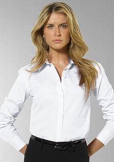 Lauren Ralph Lauren Petite Aaron Wrinkle-Free Shirt<br>