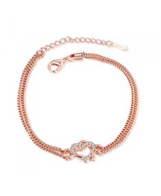 18K Gold Plated Bracelets Nickle B012 Free Antiallergic New Fashion Jewelry Good Quality