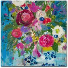 Trademark Fine Art Precious Life Canvas Art by Carrie Schmitt, Size: 14 x 14, Multicolor