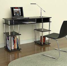 Student Desk Organizer Computer Concepts Modern No Tools School Table Laptop Room DescriptionStudent Desk Organizer Computer Color:B