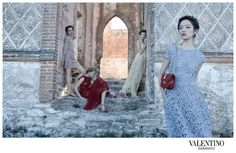 Valentino SS 2012 Campaign by Deborah Turbeville
