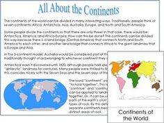 World Map Kit. PDF file from Montessori for Everyone